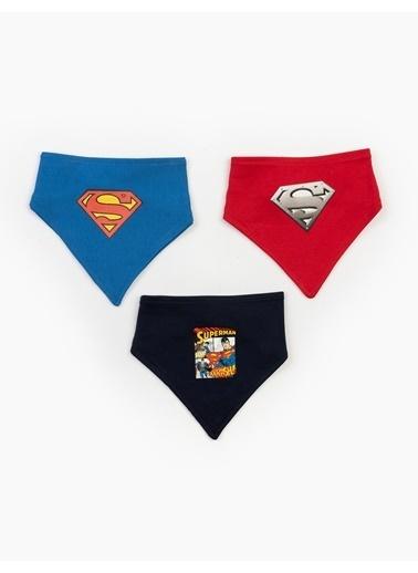 Superman  3'Lü Önlük Set 17608 Kırmızı